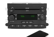 2005 Ford Five Hundred AM FM CD Player Radio Bluetooth Upgrade 5G1T-18C815-CH