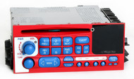 Chevy GMC 1995-02 Truck Radio AM FM CD Player w Aux Input in Face Red White Blue