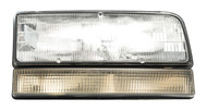 Right Front Headlight Assembly w Turn Signal Fits 1991-93 Buick LeSabre 16517264