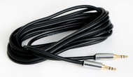 10ft Mobile 3.5mm Stereo Audio Cable - Gold Plated - Male to Male Auxiliary Cord