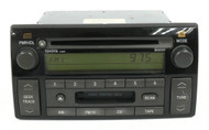 2005-2006 Toyota Camry Receiver AM FM CD Cassette 86120-AA170 Face ID AD6809