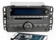 Buick Lucerne 2009-10 Charcoal AMFM CD Radio Aux Input w Bluetooth 20763964