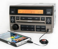 2005-2006 Nissan Altima Tan Bose Radio AM FM 6 Disc CD Player w Aux 28185ZB20C