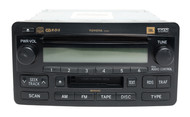 2004-2007 Toyota Tundra Sequoia AMFM Radio Cassette CD Player 86120-0C140 A56830