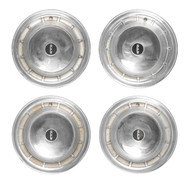 "Set of 4 OEM Wheel Cover Hubcaps 14"" Fits 1958 Edsel Corsair Ranger Citation"