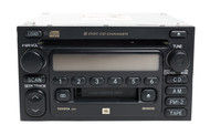1999-2003 Toyota Camry Sienna AM FM Radio 6 CD Player 86120-0C040 Face A56817