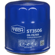 Super Tech Quality Spin On Engine Oil Filter 1 Piece ST3506