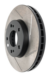 Stoptech Sport Front Brake Rotor Slotted Fits 1991-96 Nissan 300ZX 126.42050SL