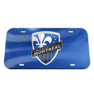 WinCraft Soccer Impact Montreal License Plate Crystal Mirror Logo 14556115