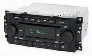 Jeep Chrysler Dodge 2004-2010 Radio AM FM 6 Disc CD Player RAQ P05091720AD
