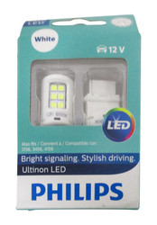 Philips Ultinon LED Replacement Bulb  Back Up Light White 2 Pack 12v  3155ULWX2