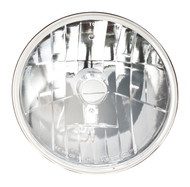 Single Round Conversion Front Headlight Lamp Assembly Fits Dodge Rampage 5081125