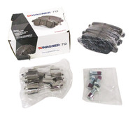 Wagner ThermoQuiet Ceramic Disc Brake Pads Fits 2007-13 Land Rover Volvo QC1852