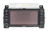 2012 Jeep Grand Cherokee AM FM CD Player with DVD Aux P68089010AD Face Code RHR