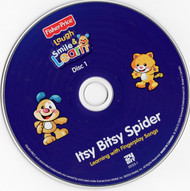 Laugh Smile Learn Itsy Bitsy Disc One Only Spider 2010 CD Professionally Cleaned