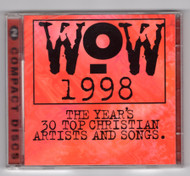 WOW 1998 The Year's 30 Top Christian Artists And Songs Various Artists USED CD