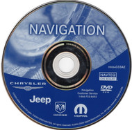 Chrysler Dodge Jeep 2002-2007 Navigation DVD Map of North America - 05064033AE