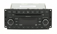 2008-10 Chrysler Dodge Jeep Radio AM FM mp3 CD w Aux & Satellite P05064420AE RES