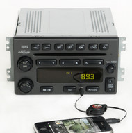 Hyundai Santa Fe 2001-2006 Monsoon Radio AM FM 6 Disc CD w Aux Input - 12239439