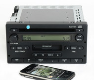 Ford Ranger 2004-2005 Radio AM FM CD Cassette w Bluetooth Music - 4L5T-18C868-AF