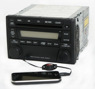 Ford Escape Mariner 2005-2007 Radio w Auxiliary AMFM CD 5T2T-18C869-AA Face 4160
