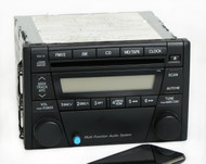 Ford Escape 2005-2007 Radio AM FM CD w Bluetooth Music 5T2T-18C869-AA Face 4160