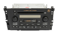 2001-2003 Acura CL AM FM Cassette with 6 Disc CD Player 39101-S3M-A130-M1 3PKO