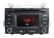2011-2013 Kia Sportage AM FM Radio MP3 Player Single-Disc CD Player 961703W900WK