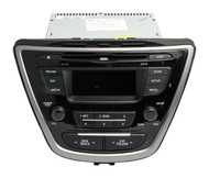 2014-2016 Hyundai Elantra AM FM Sirius MP3 Single-Disc CD Player 96170-3X156GU