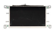 2009-2017 Audi A4 Information Display Screen Part Number 8T0919603F