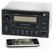 Toyota 4Runner Camry 95-00 Radio AM FM CS CD Bluetooth Music - 86120-35170 56808