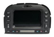 2003-2008 Jaguar S-Type Navigation Player Screen Climate Control 2R8310E889AE