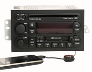 Oldsmobile 1996-00 Achieva Cutlass Radio AM FM CD Cassette w Aux Input 16213343
