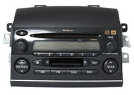 2004-05 Toyota Sienna JBL Radio AM FM Cassette CD Player 86120-AE020 Face 16840