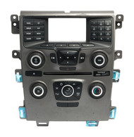 2013 Ford Edge Radio Temperature Control Panel Part Number DT4T-18A802-AA