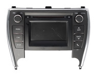 2016-17 Toyota Camry AM FM Radio Touch Screen CD Player 86140-06660 Face 100614