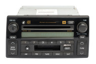 2005-2006 Toyota Camry AM FM Radio Receiver with 6 Disc CD Player OPT A56840