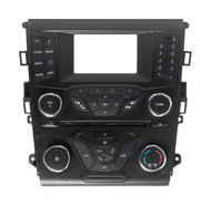 2014-2015 Ford Fusion Center Dash Radio and Climate Control Panel ES7T-18E243-EB