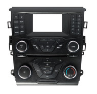 2017-2020 Ford Fusion Center Dash Radio and Climate Contol Panel HS7T-18E243-NA