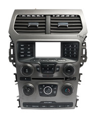 2014-2015 Ford Explorer Radio and Climate Control Panel w Vents EB5T-18A802-AB