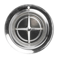 1962-1963 Dodge 880 Vintage Silver 14 Inch Hubcap Wheel Cover