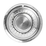 """1955 Plymouth Savoy Belvedere Vintage 15"""" Silver Hubcap Wheel Cover"""