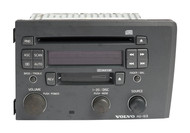 2001-2005 Volvo 60 70 Series AM FM Cassette w Single CD Player HU-613 8651153-1