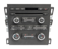 2011-12 Lincoln MKZ AM FM Radio 6 Disc CD Player w Climate Panel AH6T-19C158-BF