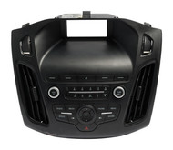 Ford Focus 2015-2018 Radio Control Panel and Bezel with Vents J1ET-18K811-KA