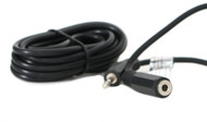 3.5mm Stereo Aux Audio 6ft Extension Cable - Male to Female - iPhone Android mp3