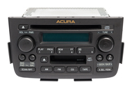 2001-2004 Acura MDX AM FM Radio CD Player Cassette Face 2PF1 Part ID S3V-A040-M1