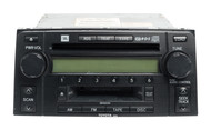 2003-05 Toyota 4 Runner AM FM Radio CD Tape Player Face ID 56836 Part 8612035201