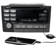 2001 Nissan Maxima Radio AM FM Cassette CD w Auxiliary Input PN-2415D Face CNB88
