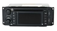 04-07 Chrysler Dodge Jeep AM FM Radio DVD CD GPS Navi  Aux Input P56038629AI RB1